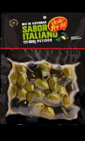 Azeitonas Temperada a Vácuo - Italiana 150g